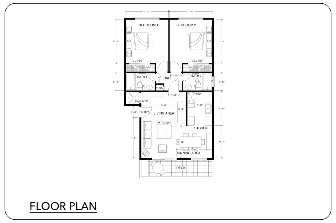 2D floor plan house_home_Residence_onsite measuring real estate rental plan layout services