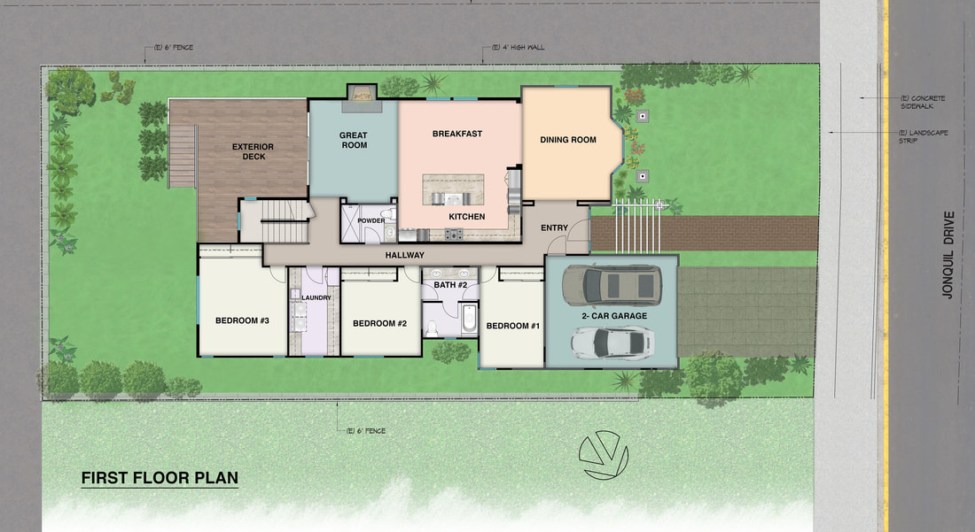 2D Floor Plan layout_service_on site measuring_real estate