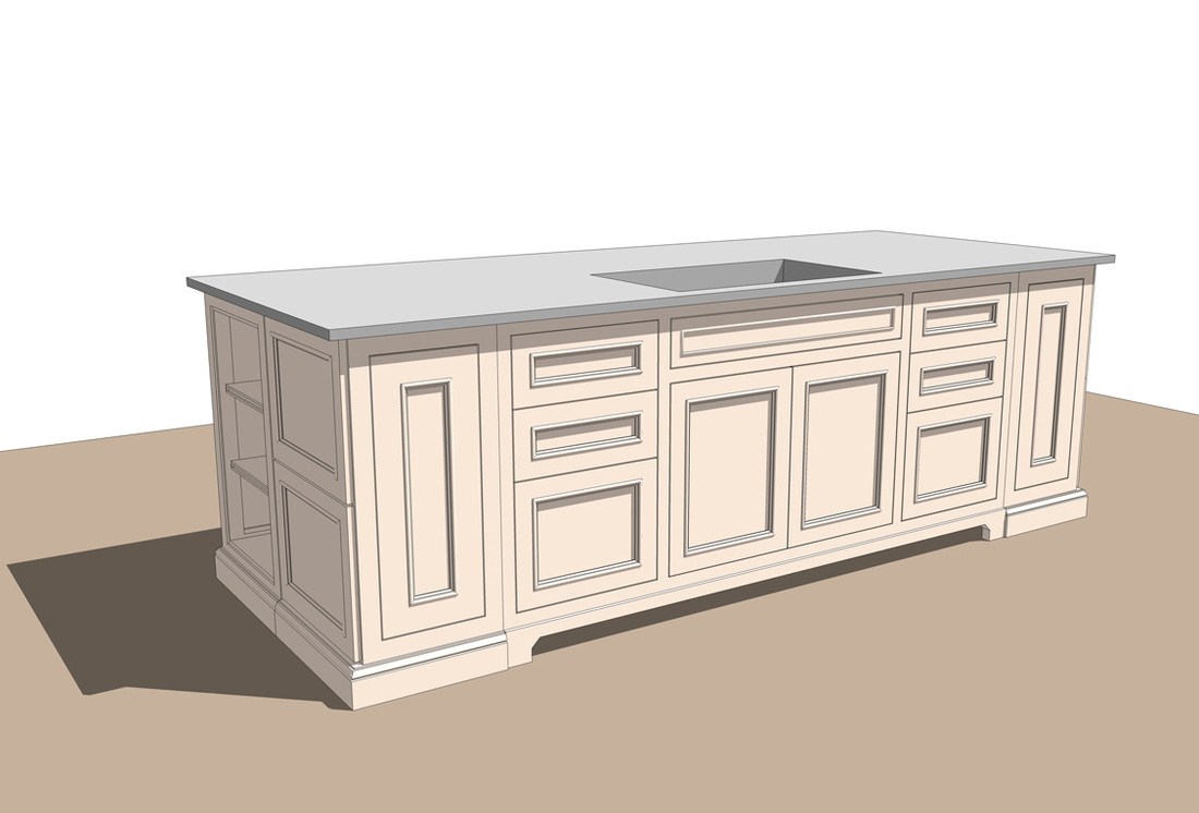 Free Kitchen SketchUp Models Set #1