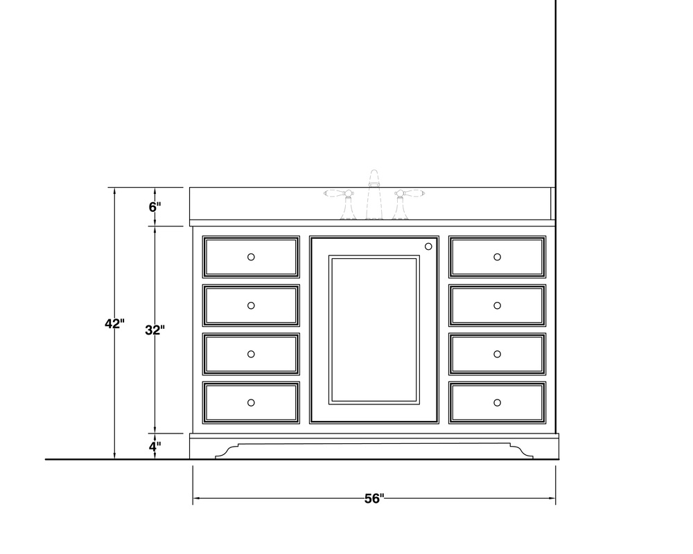 free bathroom vanity/ cabinet DWG blocks!