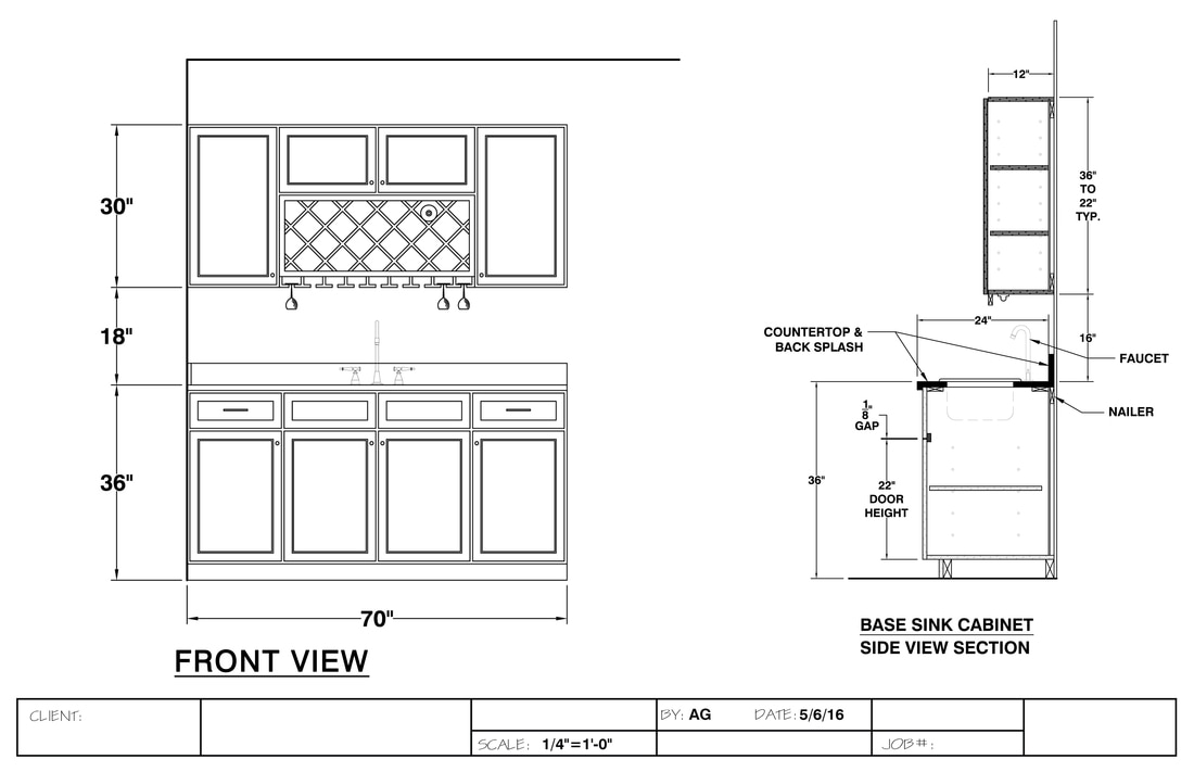 freelance exhibit design millwork shop drawings exhibit