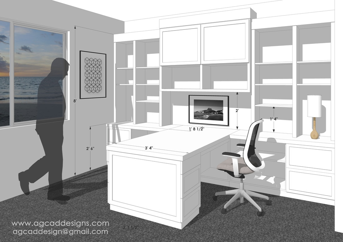 sketchup 3d interior rendering services modeling
