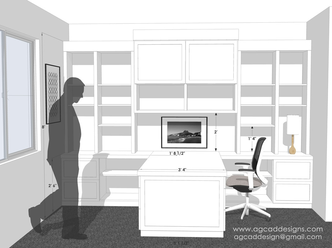 Sketchup Interior Rendering Services Modeling