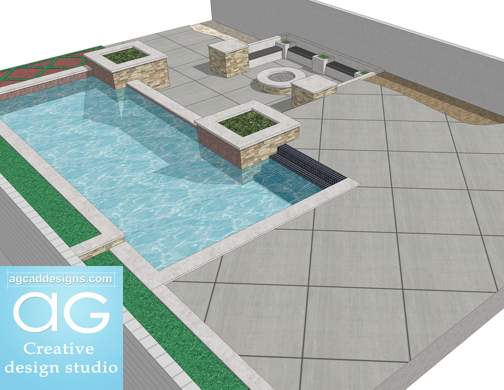 landscape & pool design concept services