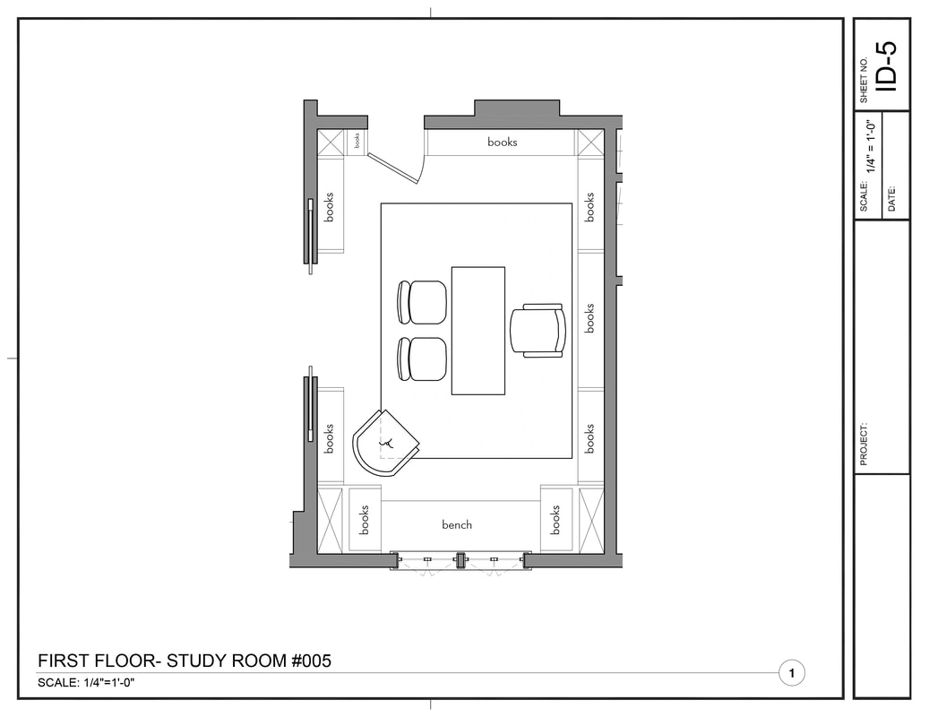 Interior Design Furniture Layout Drawing Service