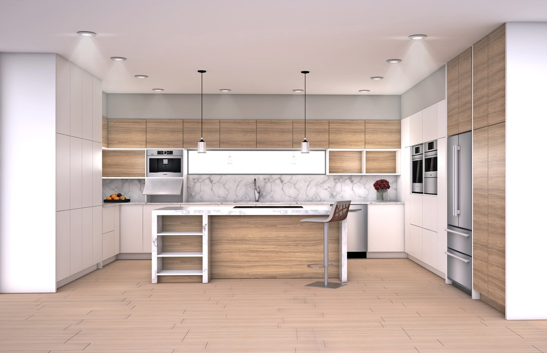 3d architectural rendering 3d architectural visualization 3d architectural animation and 3d Kitchen design rendering software