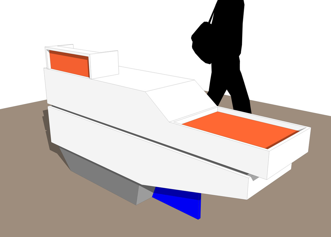 Free Retail Sales Counter_SketchUp Model_#3