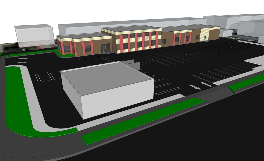 Commercial Building SketchUp