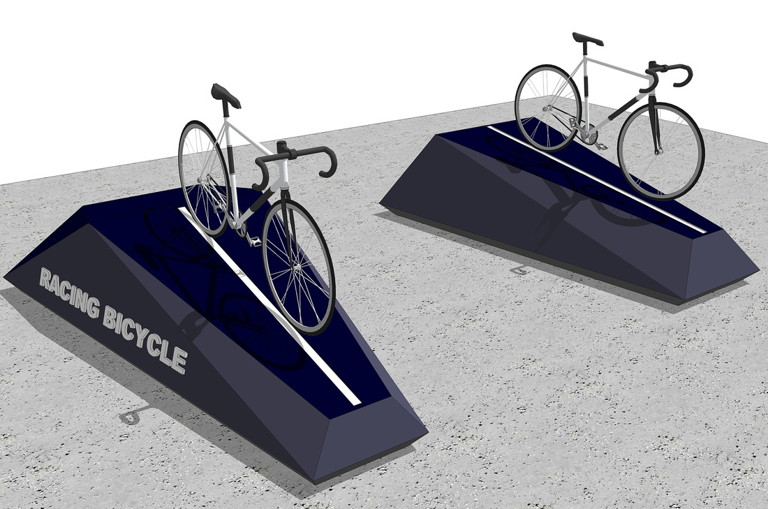 Retail Bike Fixture display Free 3D SketchUp Model