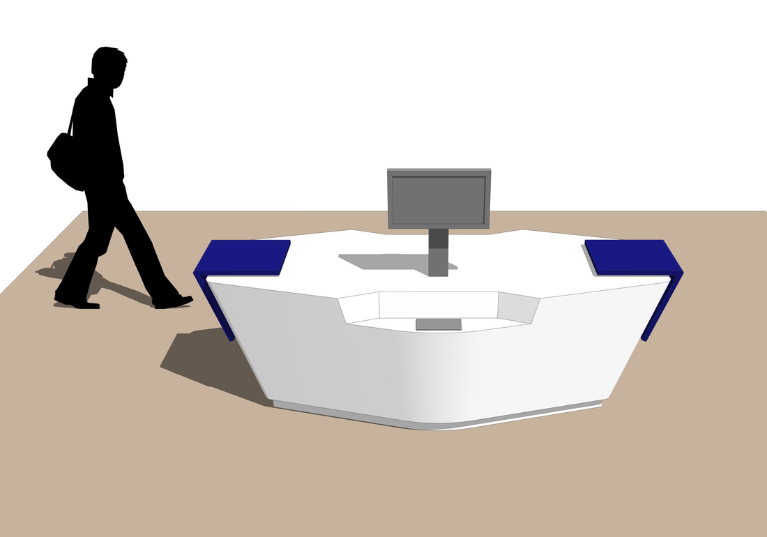 Exhibit Fixture display Free 3D SketchUp Model