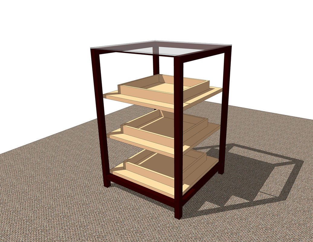 Retail Fixture Free 3D SketchUp Model
