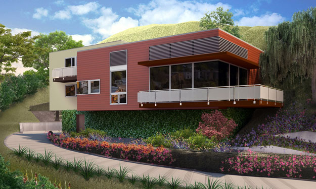 architecture exterior rendering 3d visualization online services