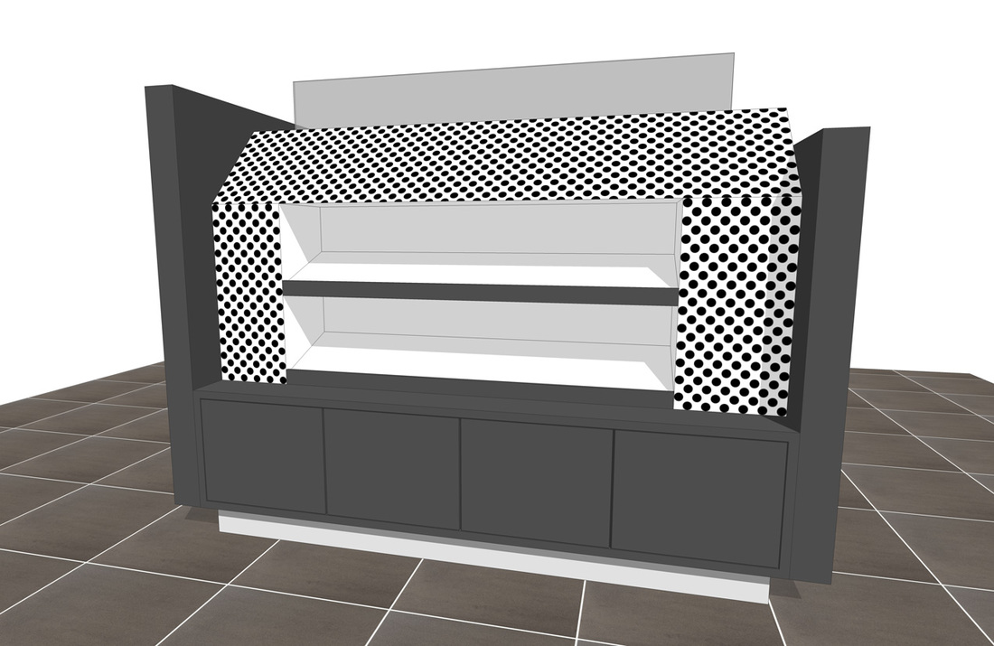 Free Retail Store Sales Display & Fixtures- SketchUp Model_#1