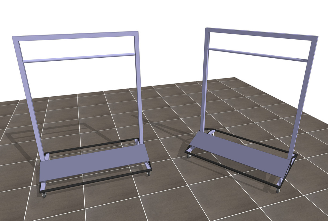 Free Retail Sales Rack_SketchUp Model
