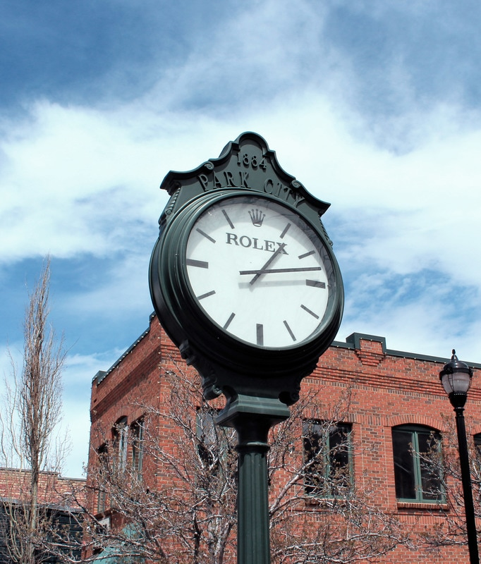 Park City, UT- Clock