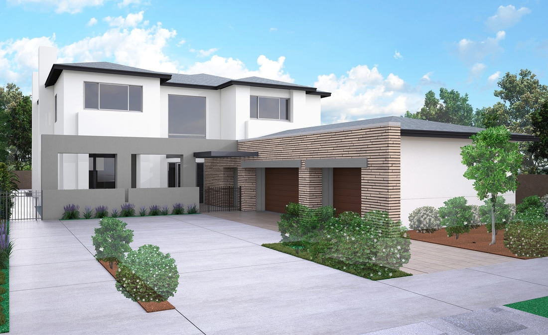 3d HOA architectural rendering services california Texas USA architectural animation services