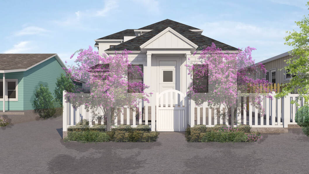 3D architectural exterior rendering services Utah_Texas