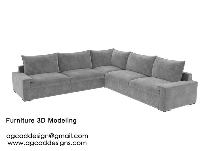 Interior design 3D Furniture modeling services in the USA