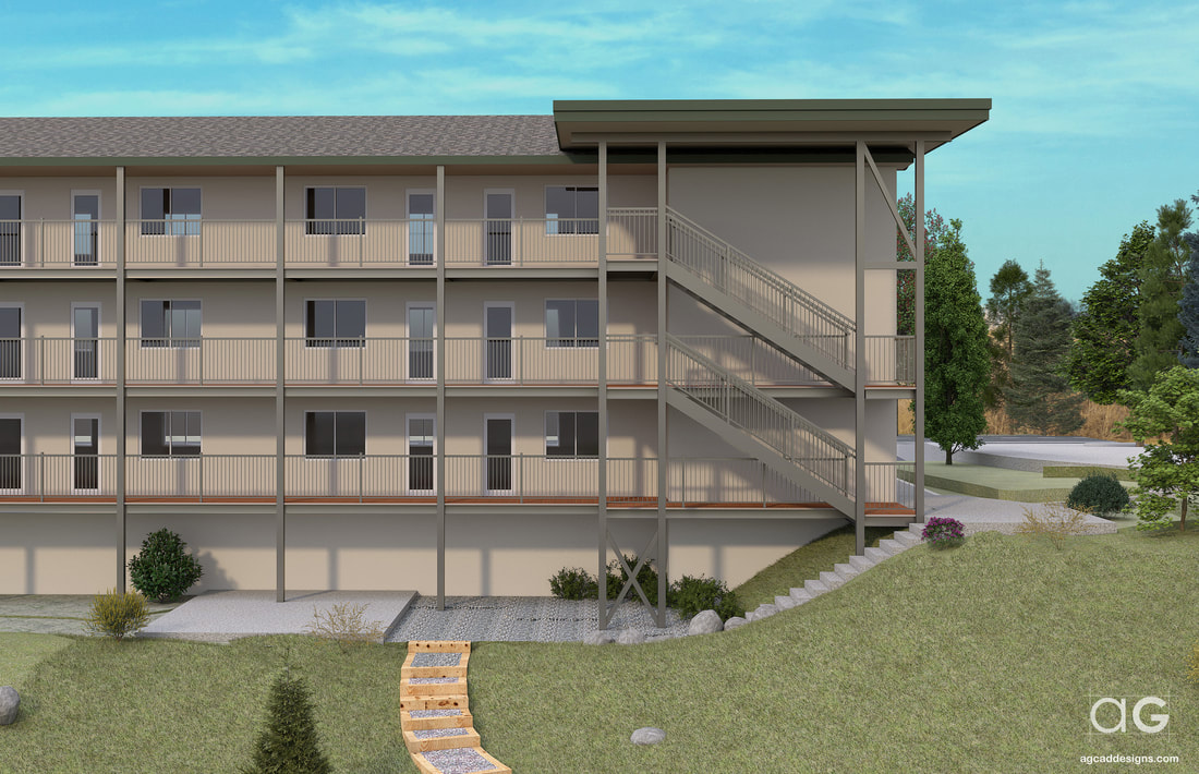 hoa graphic illustrations architectural rendering service colorado