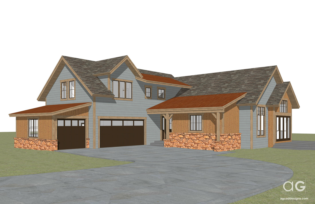 HOA review home sketchup modeling architectural visualization 3d rendering service Wyoming