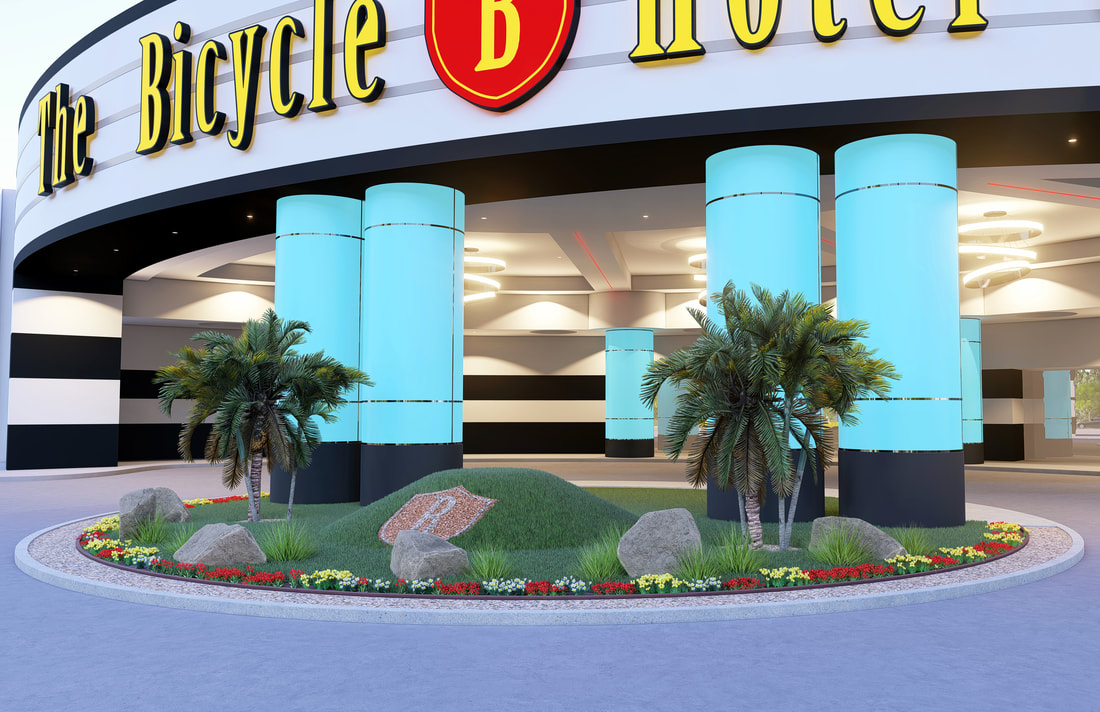 3D Architectural landscape exterior rendering services in Los Angeles California USA