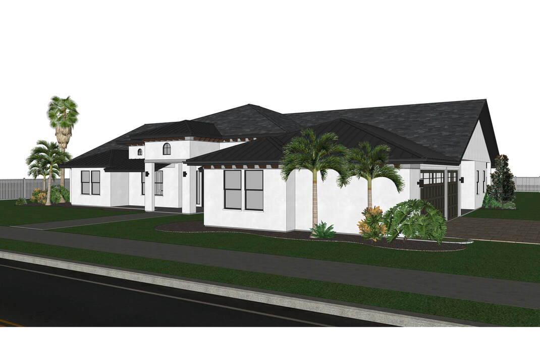 Architecture Preliminary SketchUp Rendering Services California_Texas_Washington_Utah_US