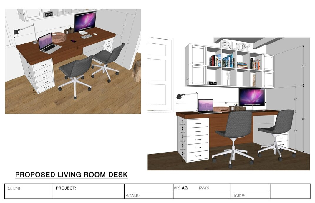 sketchup interior rendering services modeling california usa architectural