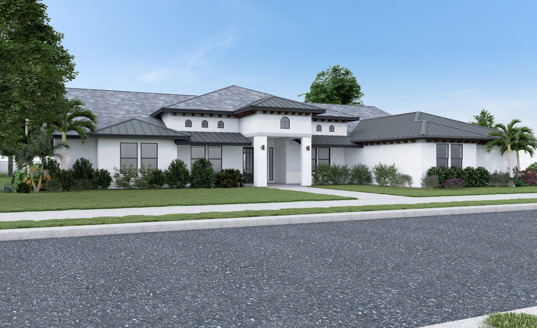Realistic professional 3D HOA Architectural visualization Exterior Home Residential Rendering Service California_San Diego_San Francisco_Los Angeles_Orange_Texas_USA