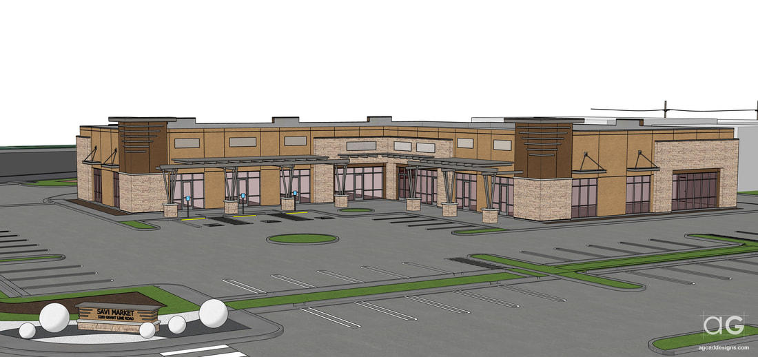 SketchUp perspective building construction services Idaho